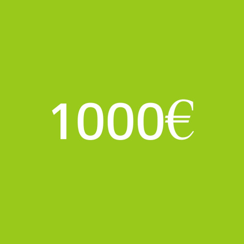 1000€